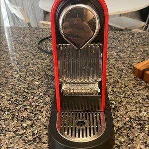 Red Nespresso citiz